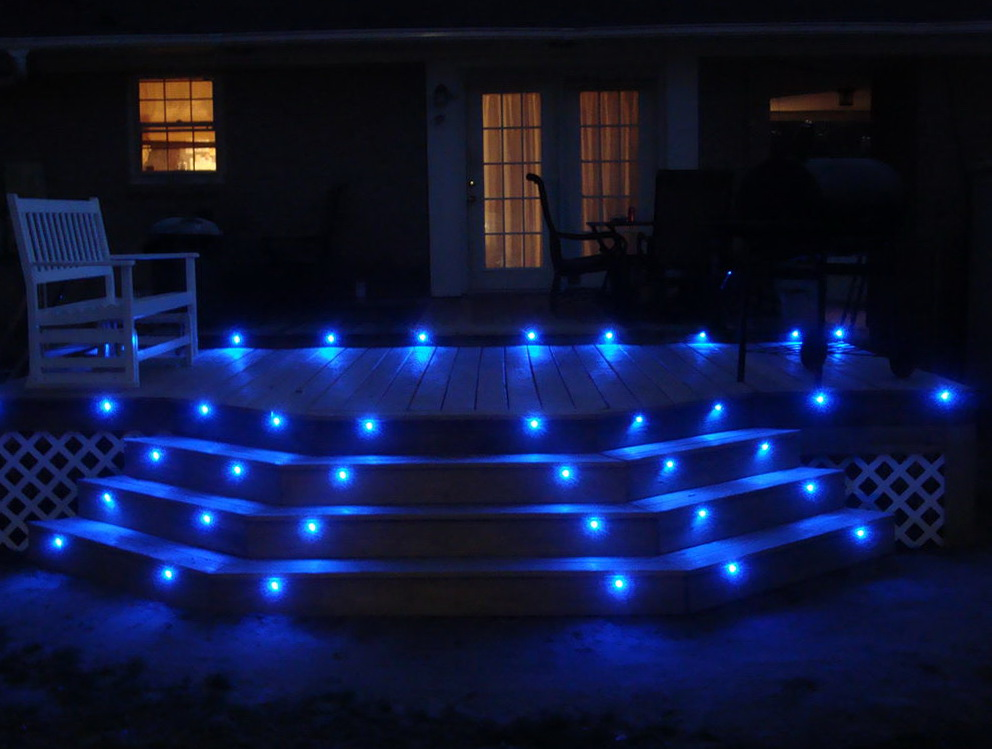 Storage Bench Led Deck Lighting Strips | Home Design Ideas