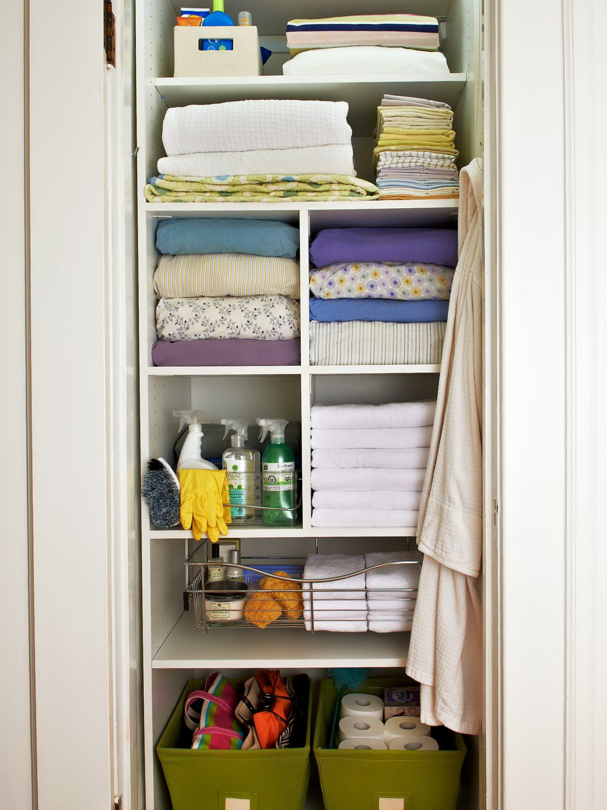 Linen Closet Organizer Systems Linen Closet Organizer Ideas Home Design Ideas