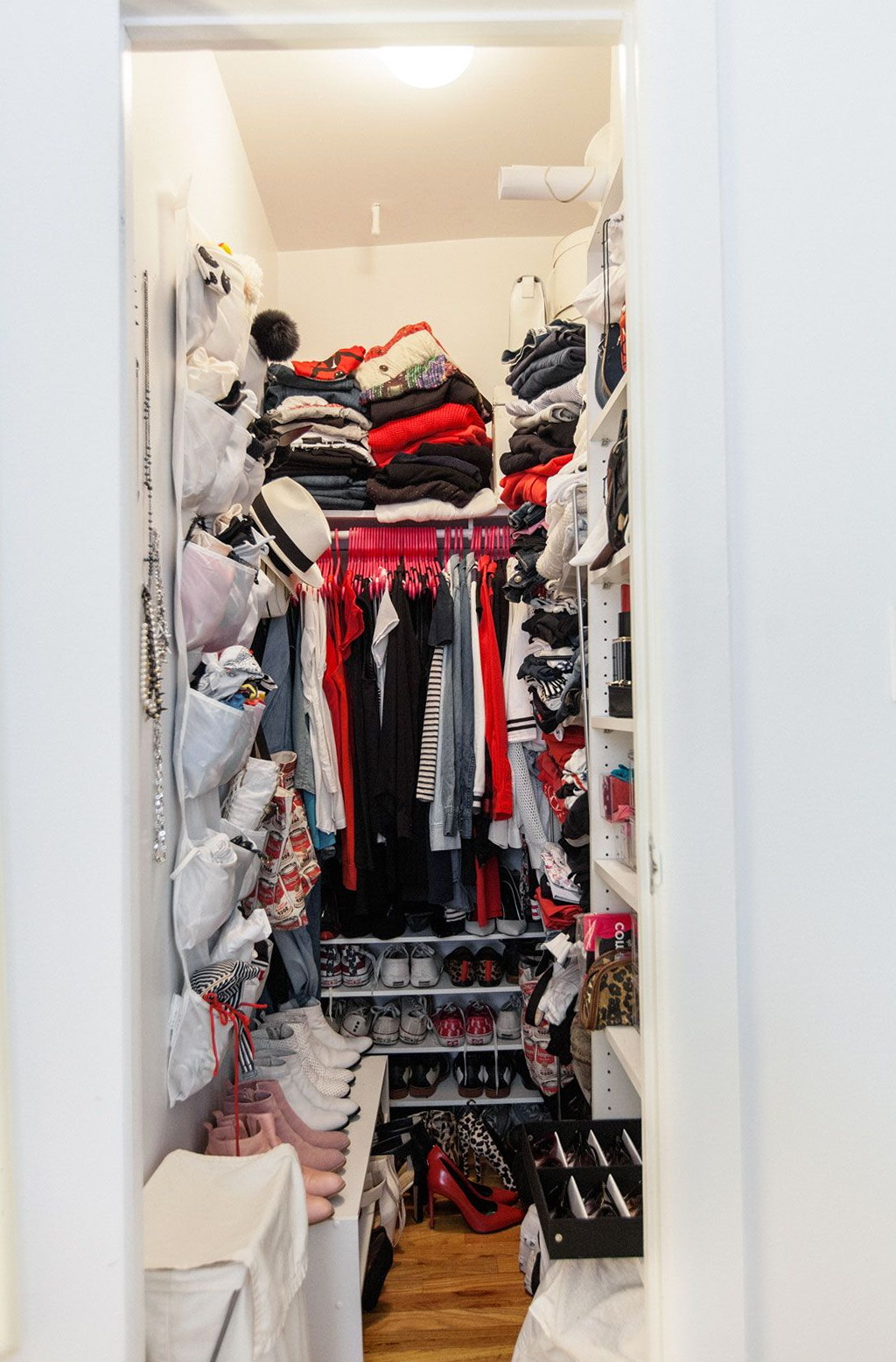 Walk In Closet Organization Ideas Narrow Walk In Closet Organization Ideas Home Design Ideas