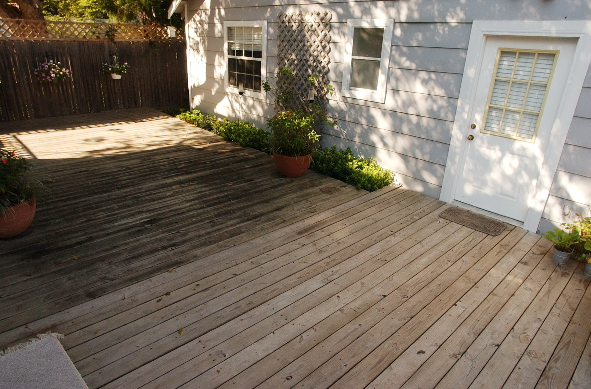 Diy Deck Cleaner Wood Deck Cleaner Homemade Home Design Ideas
