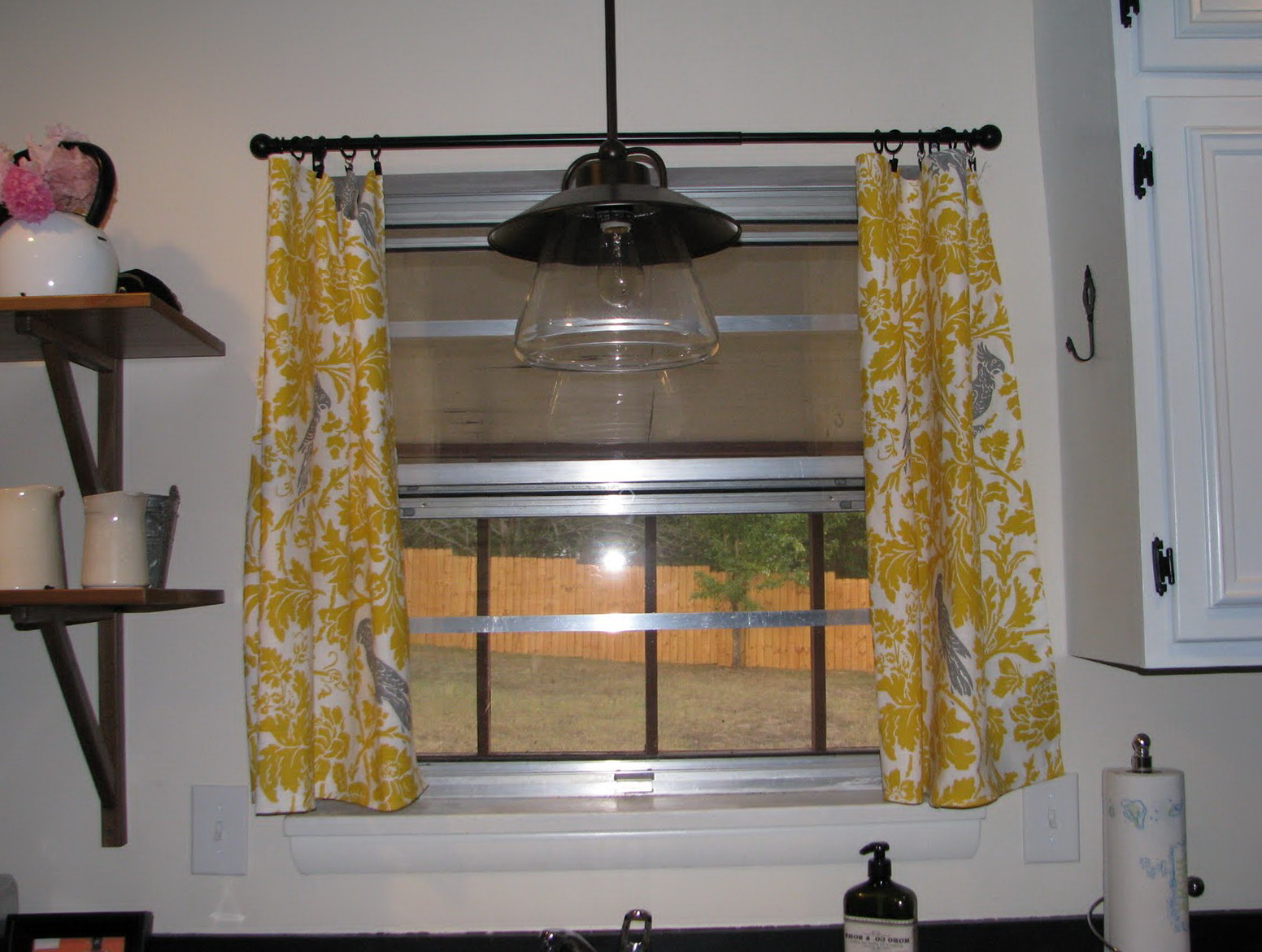 Kitchen Curtains For Yellow Walls Yellow And Gray Kitchen Curtains Home Design Ideas
