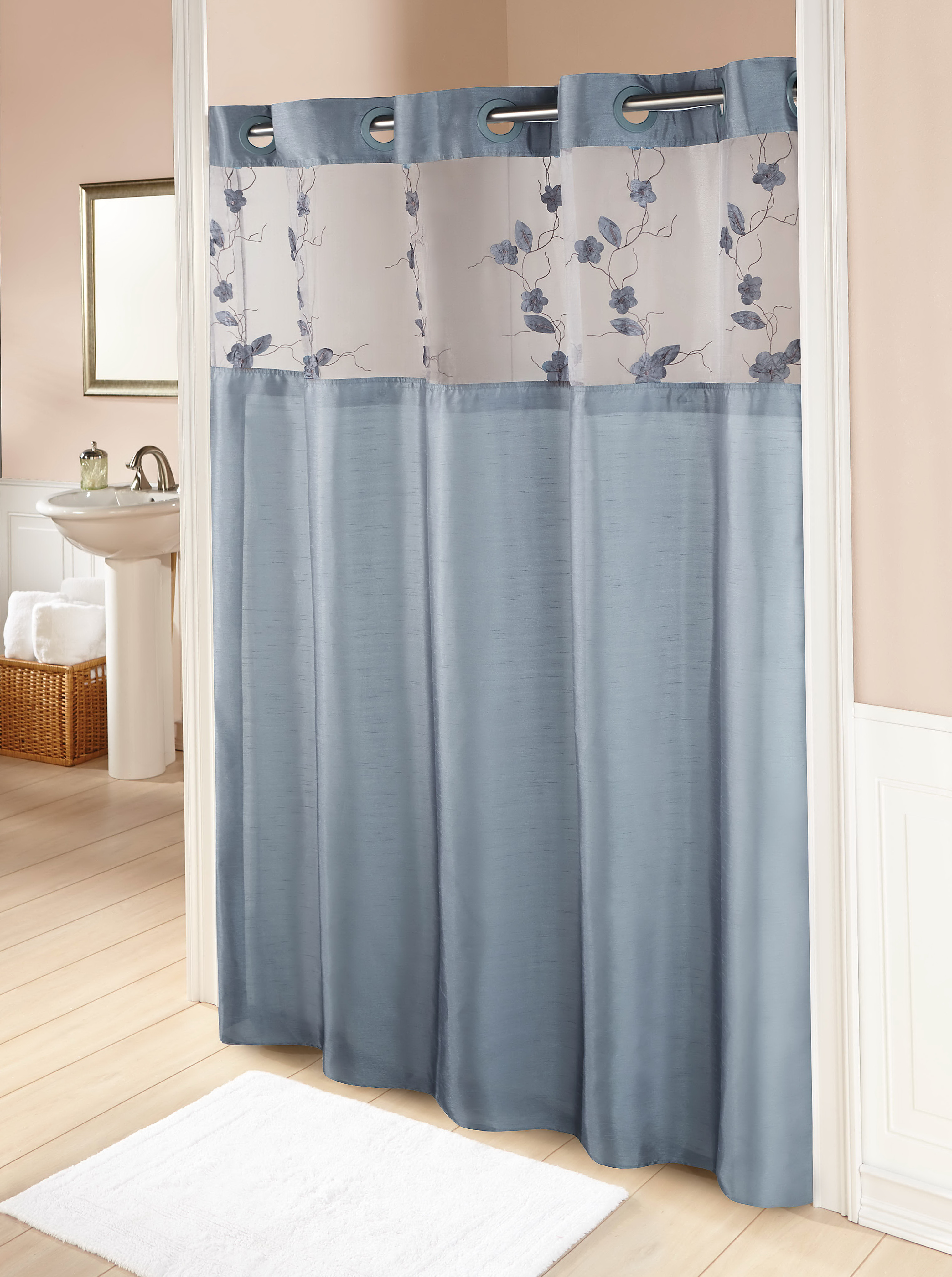 Grey Blue Curtains Grey And Blue Shower Curtains Home Design Ideas