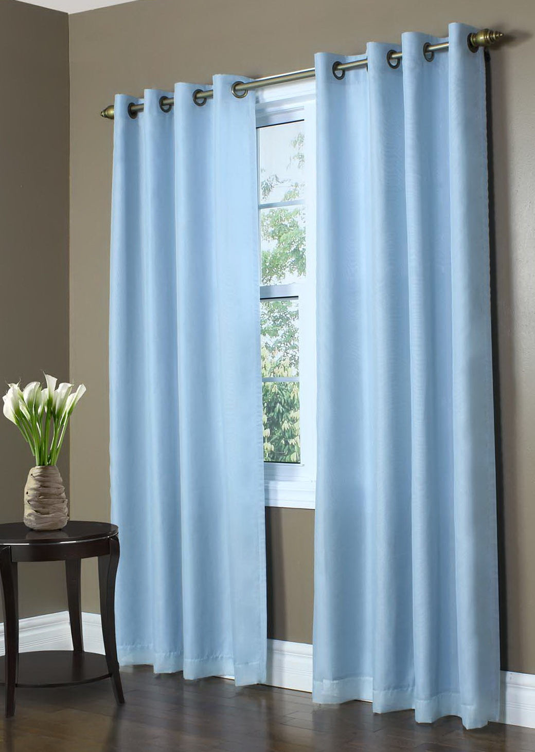 Baby Blue Blackout Curtains Light Blue Patterned Curtains Home Design Ideas