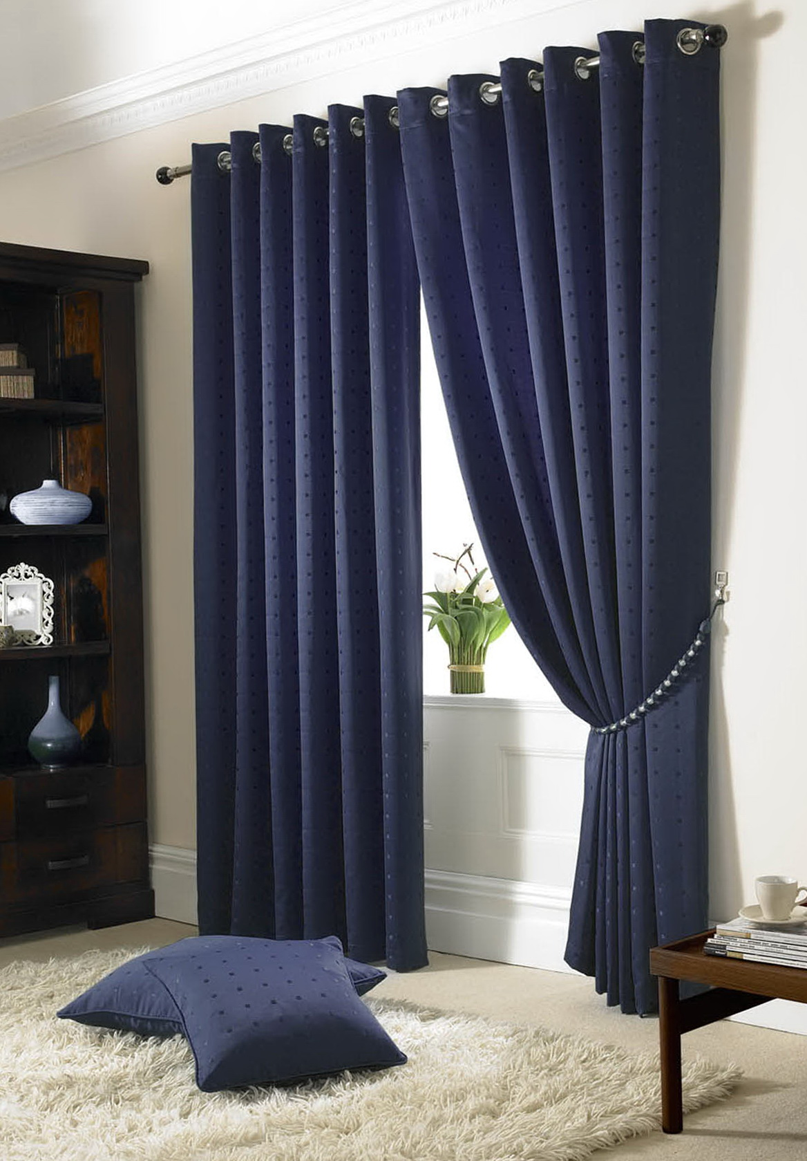 Ikea Glider Navy Blue Blackout Curtains Walmart | Home Design Ideas