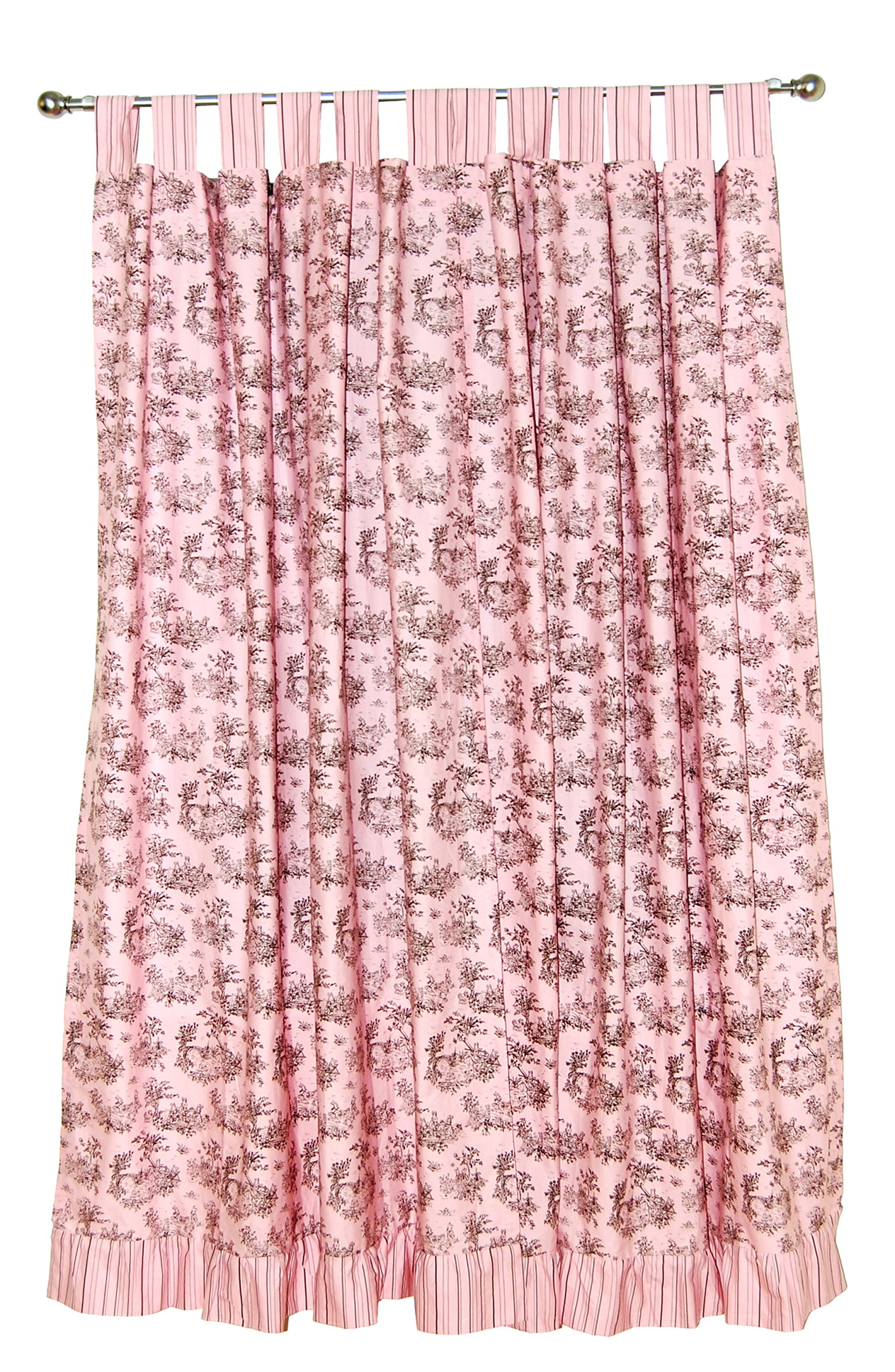 Vorhang Rosa Braun Pink And Brown Curtain Panels | Home Design Ideas