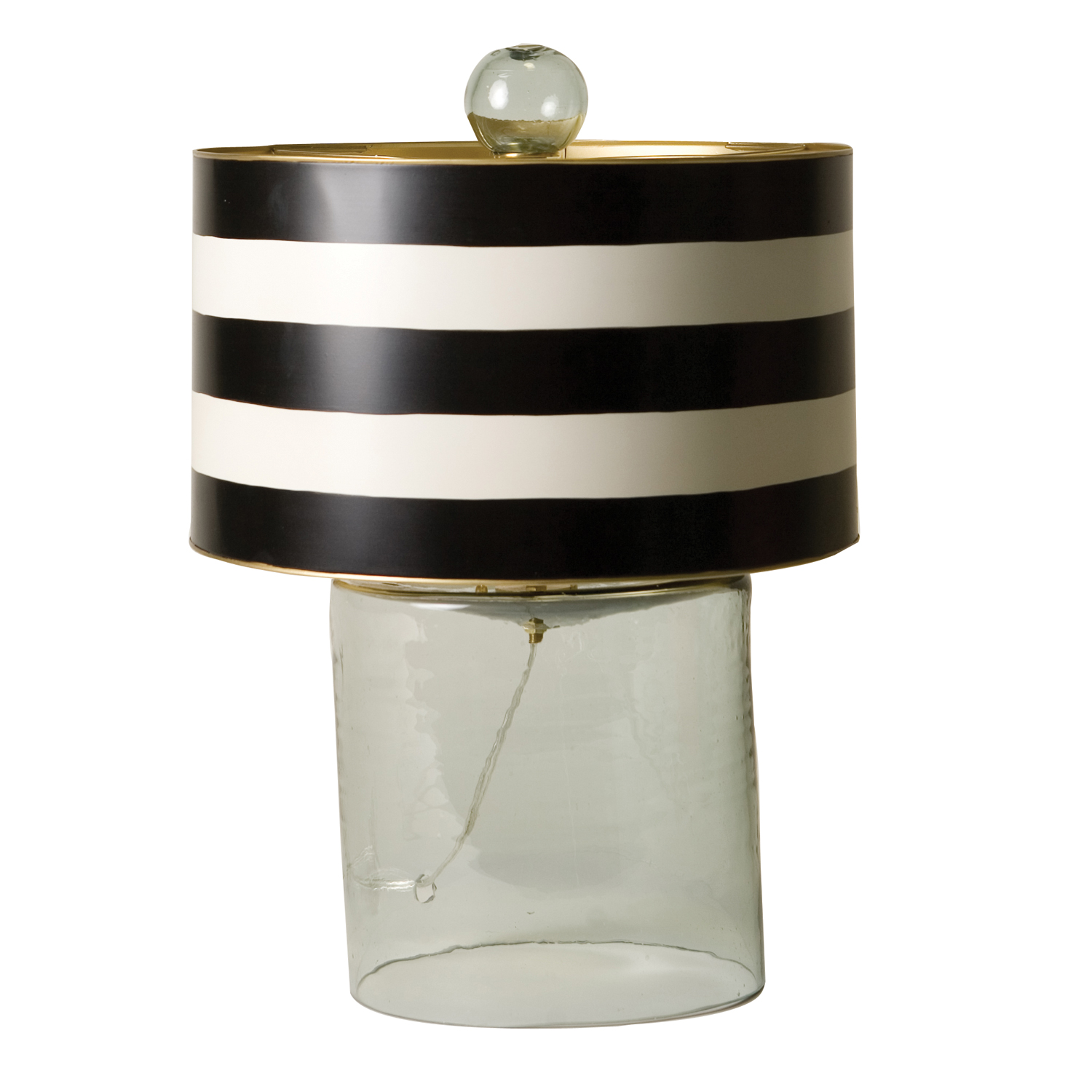 Black And White Lamp Trend Alert Black And White Stripes The English Room