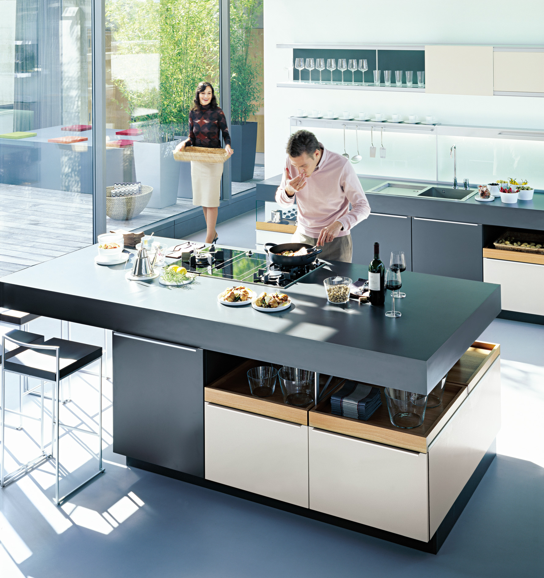 Kitchen Design Island Stove Kitchen Perfection With Poggenpohl The English Room