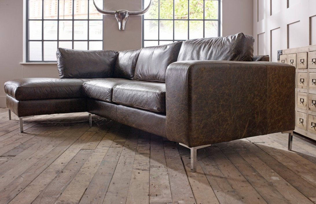 Sofa With Chaise Furniture Wellington Chaise Corner Sofa Left Hand Facing | Corner Sofas
