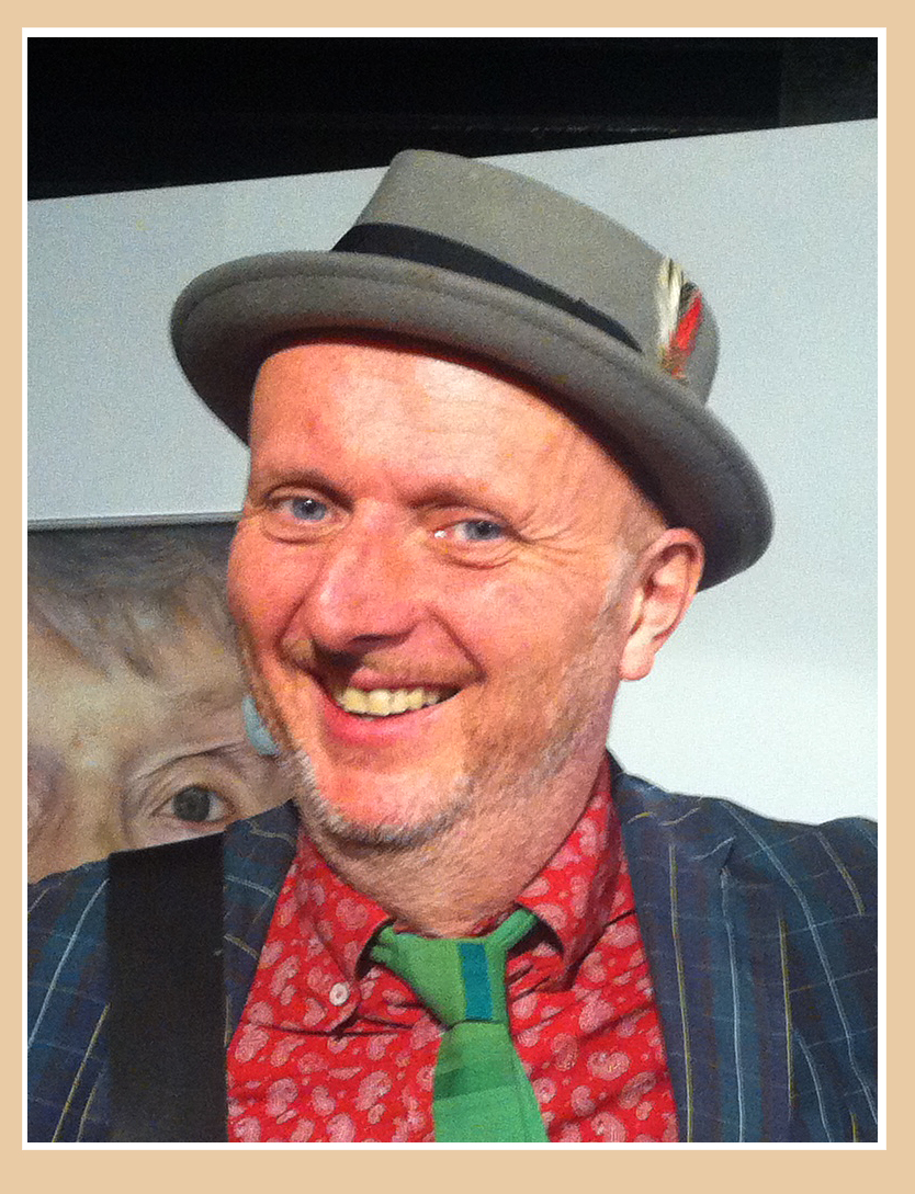 "Long Bob Painting ""the Bigger Picture"" With Bob And Roberta Smith Sept 2016"