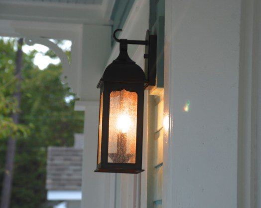 Grout porch light
