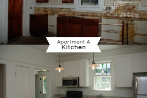 Grout Kitchen Before-After