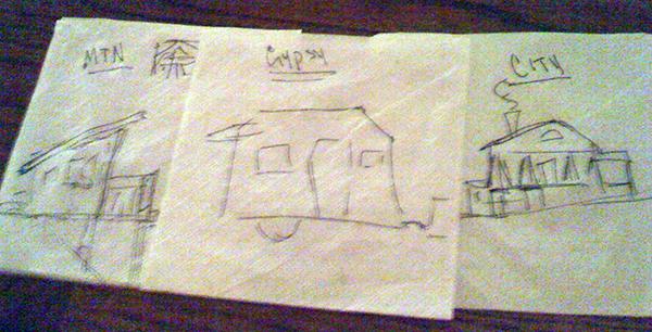 Betsy Moyer Vintage Shasta Camper Dreaming in 2009