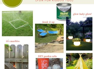 Yard Fun Projects