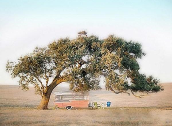 Vintage Shasta Camper Dreaming