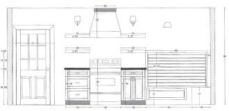 bennett kitchen drawing