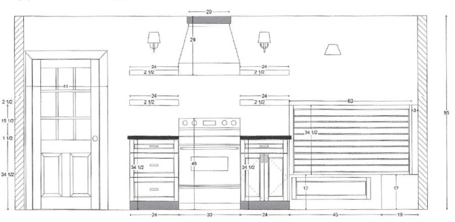 bennett kitchen  plan  u0026 progress