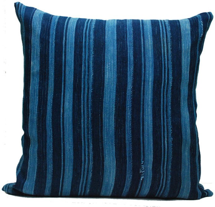 TEOT dreamboat annie stripe pillow