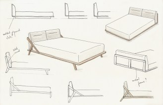 drommen bed design
