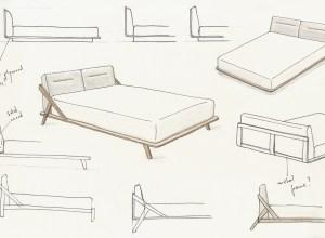 drommen bed design