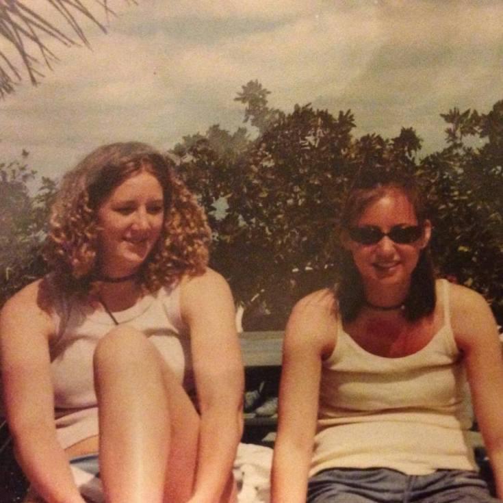 Betsy and Sarah 2001