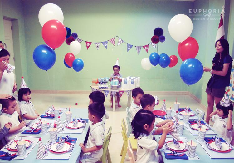 Ahoy, JJ\u0027s Sailor Birthday Party! Euphoria - birthday party design