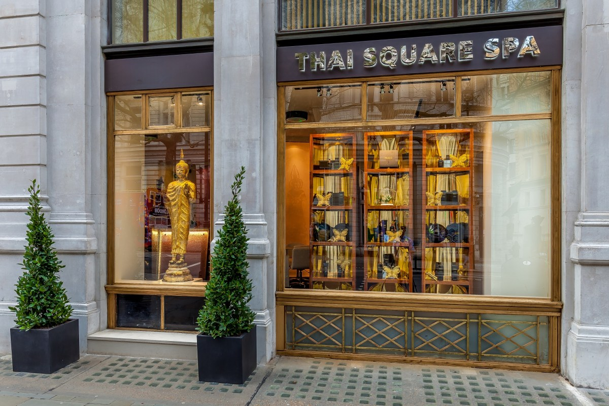 Thai Square Spa, London 'Mens Time Out Reviver Package' Review