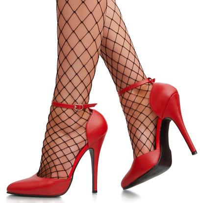 High heels are glamorous for a party, but will probably keep you in your seat instead of on the dance floor.