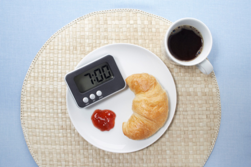 Poor time management can lead to weight gain