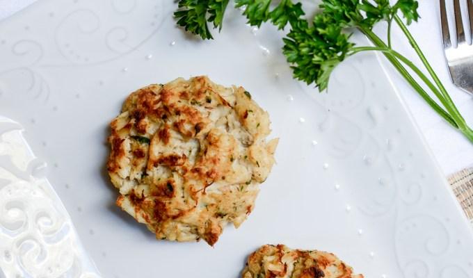 Easy No-Filler Crab Cakes