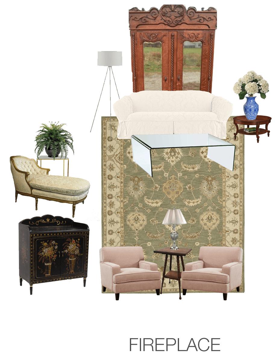 Interior Design for Home Ideas: Living Room Armoire Furniture