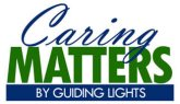 Caring Matters logo for video series.