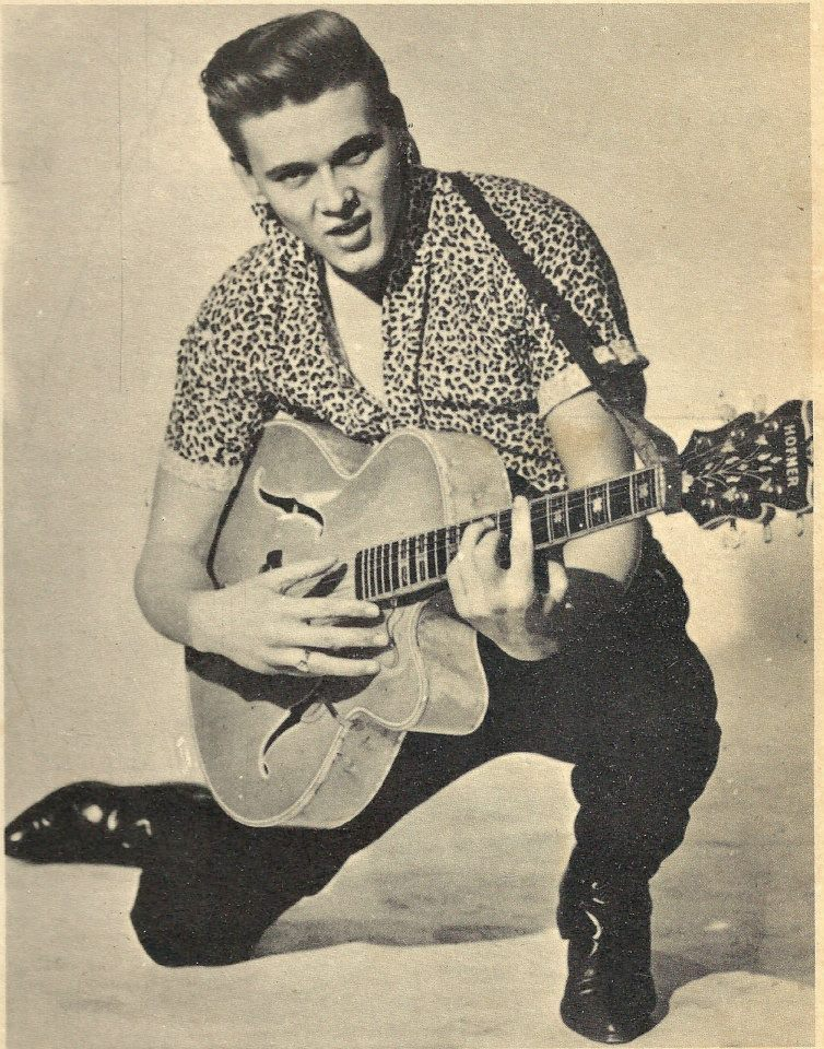 Guitar And Girl Wallpaper Music Minute Billy Fury A Wondrous Place 1960