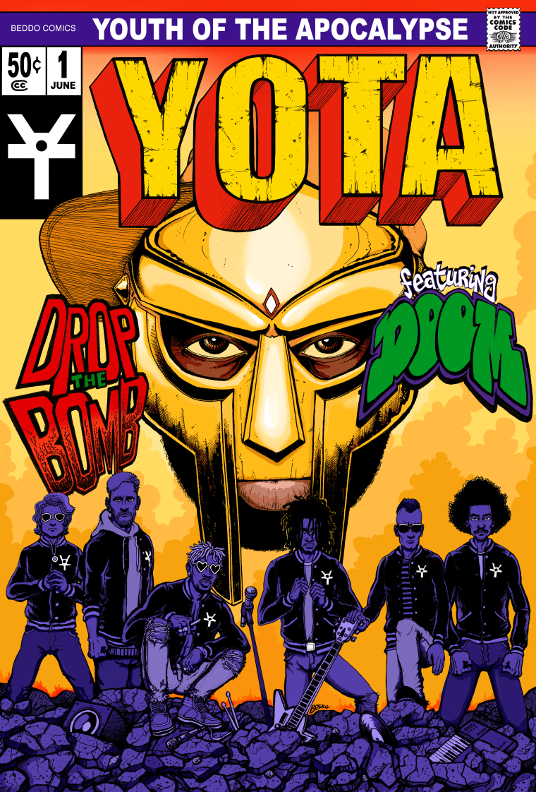 Mf Group Yota Youth Of The Apocalypse Team Up With Mf Doom On Debut