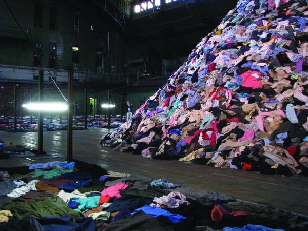 Unused clothing donations