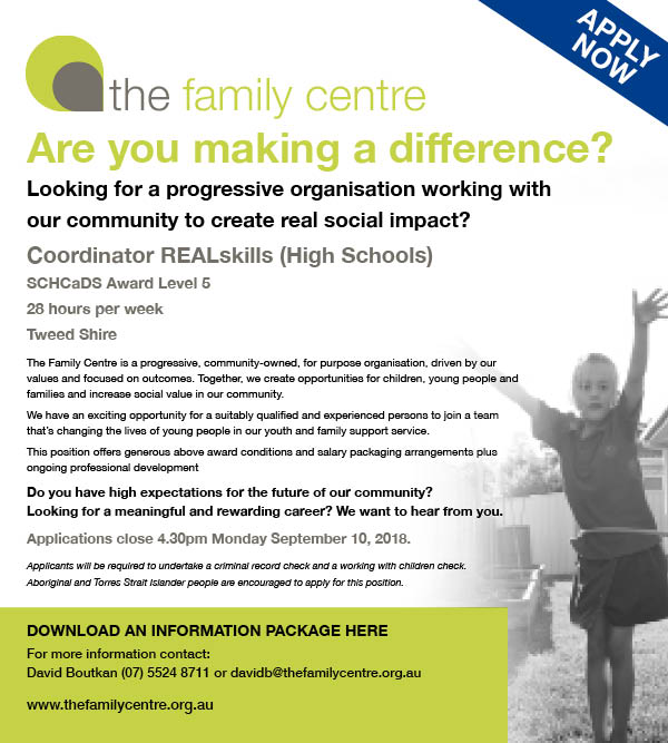 Careers with Us \u2013 The Family Centre - rewarding careers