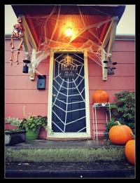 Halloween Front Door 2012 | The Family Chapters