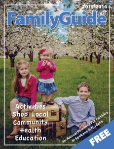 Family Fun Guide 2015 cover