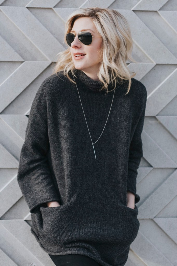 Oak and Fort Sweater with pockets