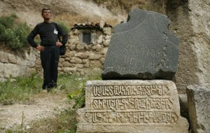 Valery, the archaeologist from Bakhchasaray (Ukraine; Crimea)