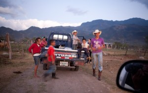 Honduras: This guys helped us allot on the road.