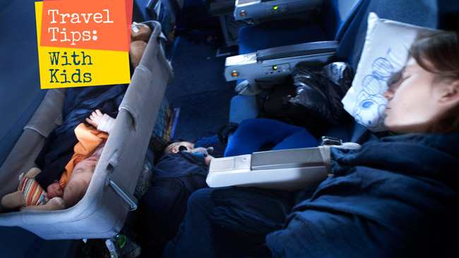 Travel with kids by plane flying with infants is easy travel tips