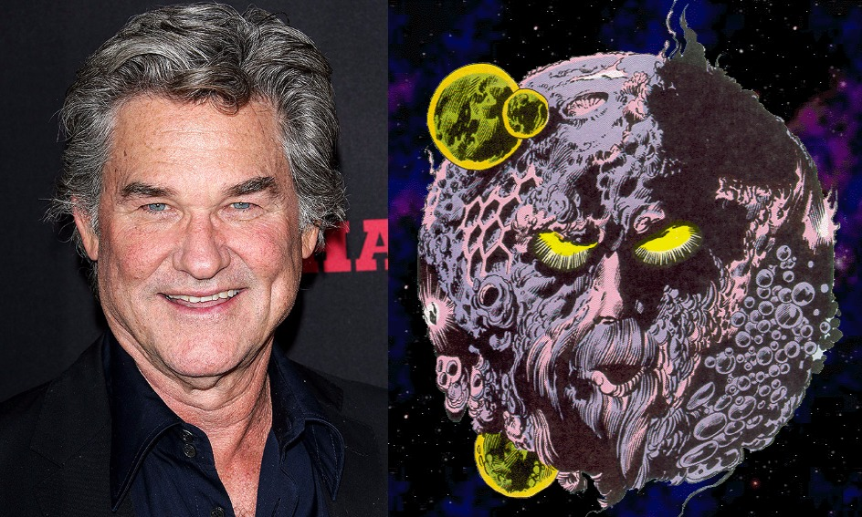 SDCC 2016 - Kurt Russell is Star-Lord's Dad aka EGO THE LIVING PLANET in Guardians of the Galaxy Vol. 2