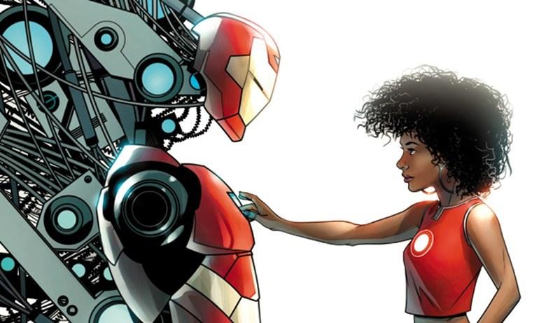 Riri Williams' Iron Man Identity Would be Called Ironheart