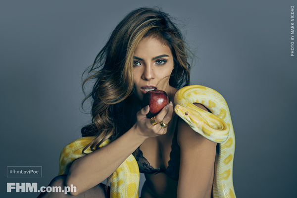 Lovi Poe is FHM Philippines' October 2016 Cover Girl