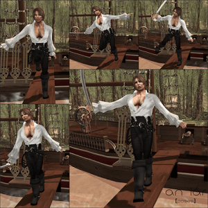 an lar [poses] Walk the Plank Series vendor