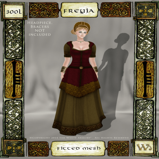 Norse-Marshes-Fitted-Mesh-Gown-Set-Freyja