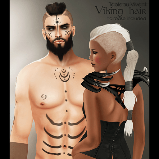 ~Tableau Vivant~ Viking Hair _AD