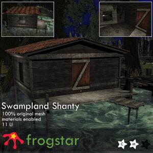 Frogstar - Swampland Shanty Poster