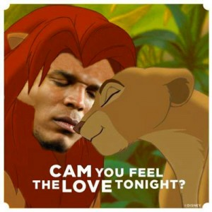 Cam you Feel the Love tonight - Cam Newton - Lion King