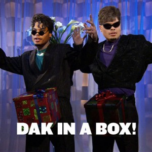 Dak in a box - Dak Prescott - Dick in a box